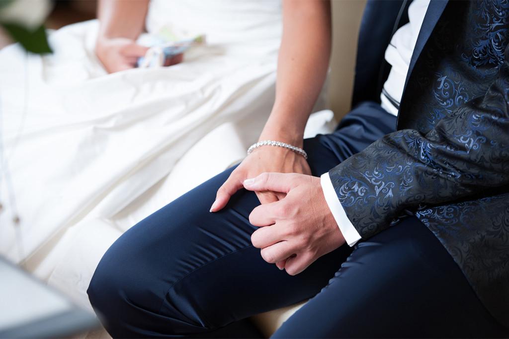 Eheschliessung auf Schloss Steinhoefel Hochzeitsfotografie Berlin