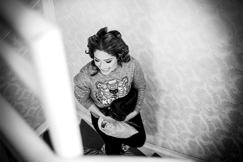 Getting ready Braut Hochzeitsvilla Valentino Zuerich Hochzeitsfotograf berlin