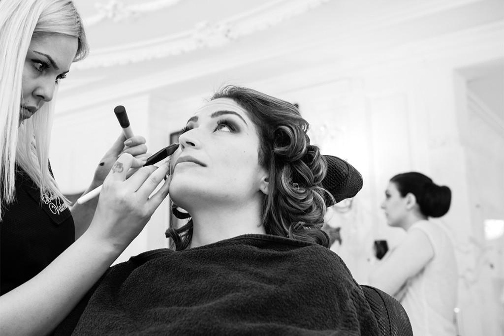 Getting ready Braut Villa Valentino Zuerich Hochzeitsfotograf berlin