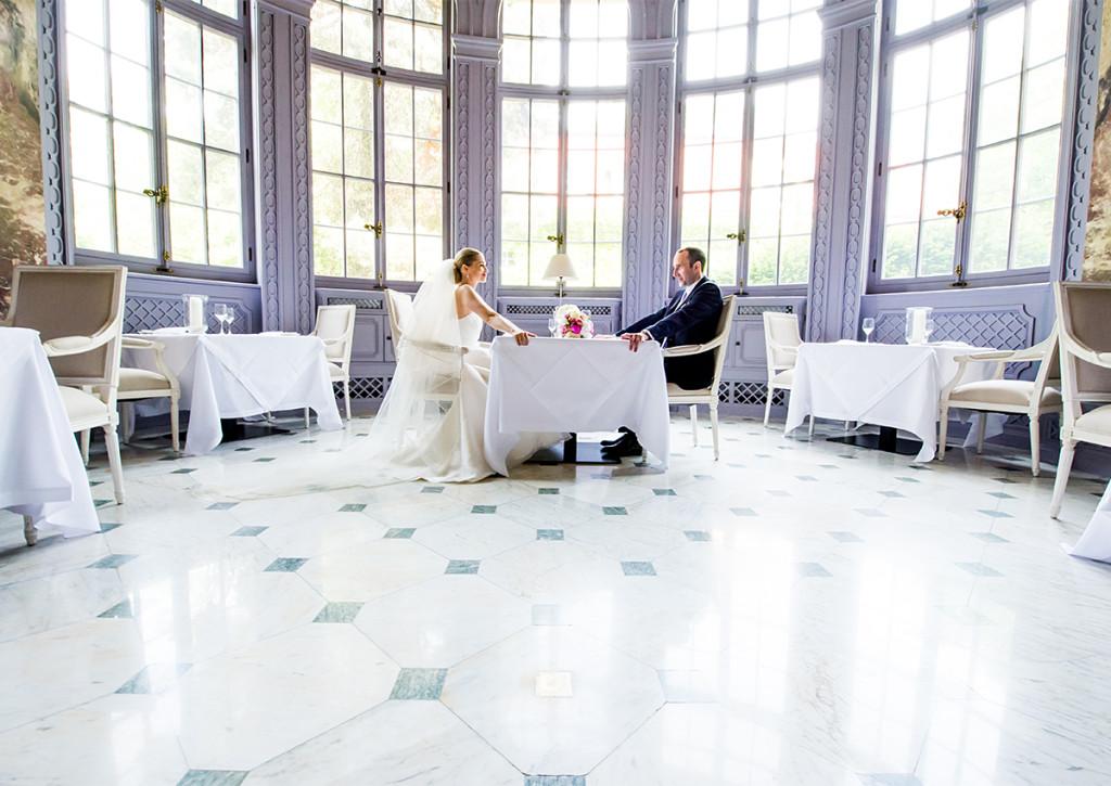 Hochzeitsportraits Schlosshotel Grunewald Berlin Hochzeitsfotograf Berlin