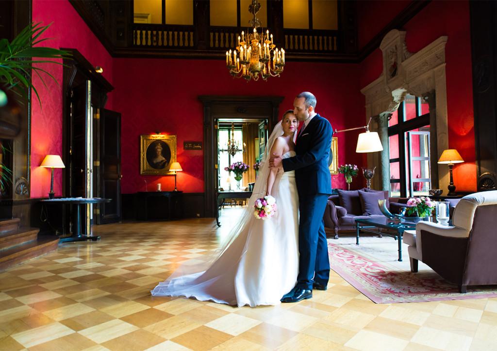 Hochzeitsportraits Schlosshotel Grunewald Hochzeitsfotograf Berlin