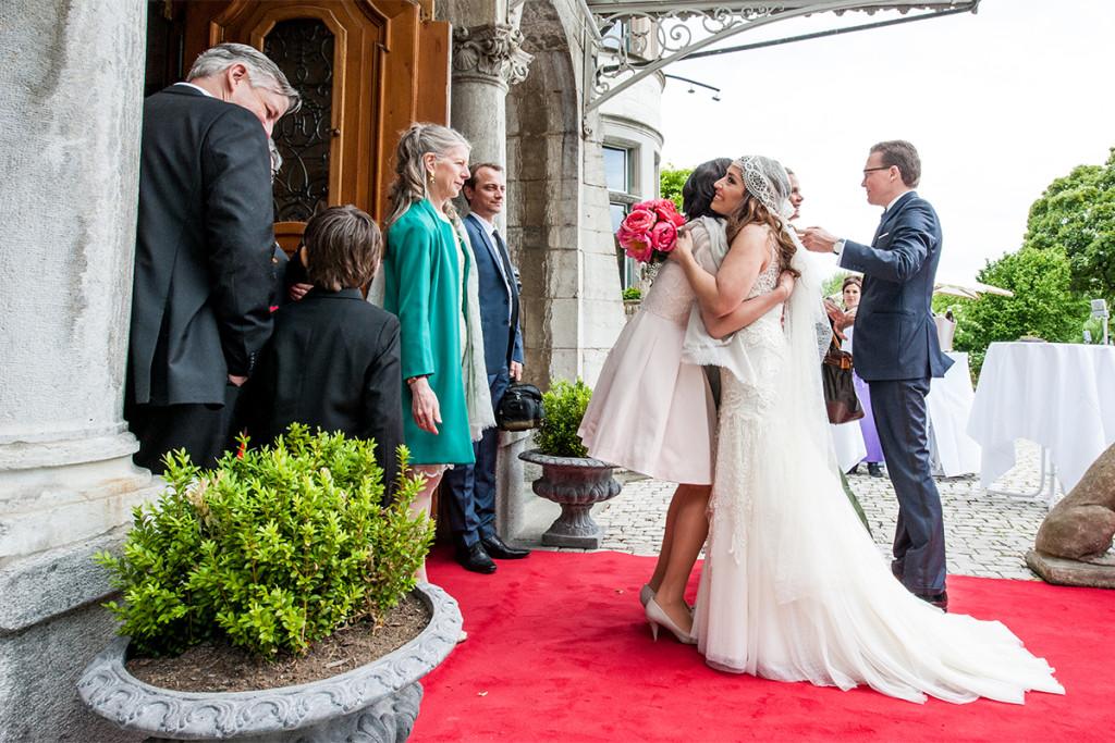Hochzeitsreportage Zuerich Schloss Sihlberg Hochzeitsfotograf Berlin Zuerich
