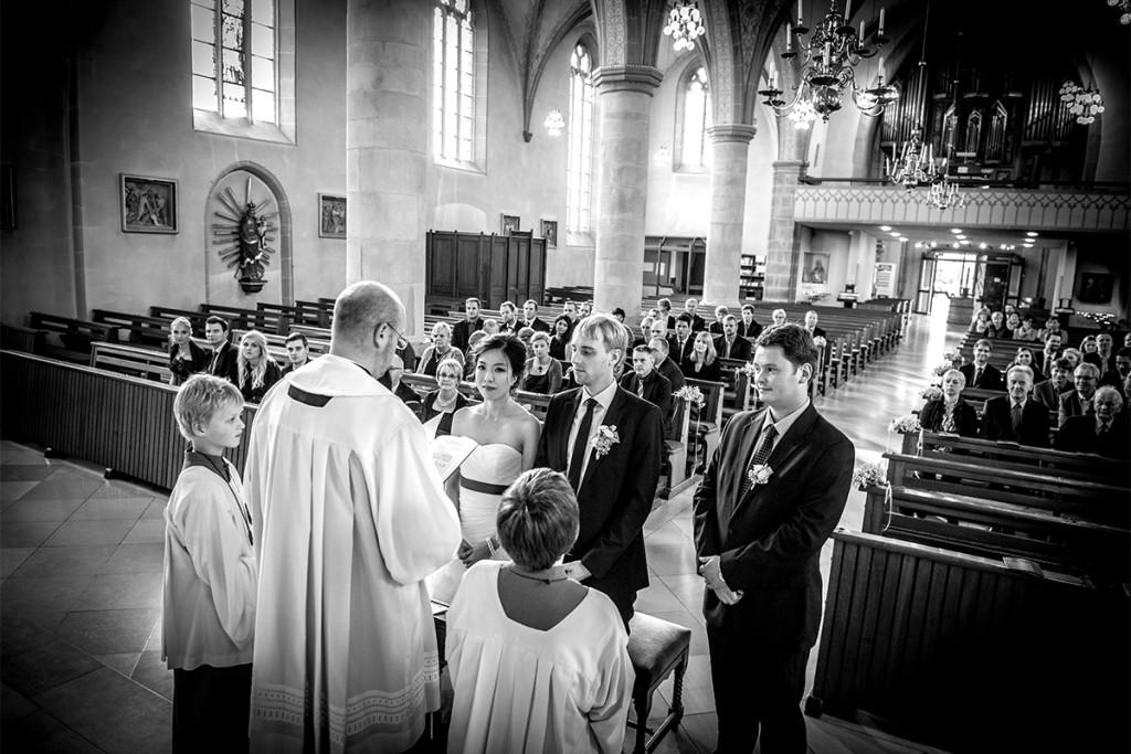 Hochzeitsreportage kirchliche Rauung Berlin Hochzeitsfotograf Berlin