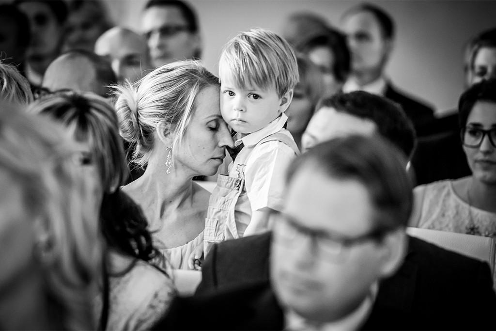 Trauung auf Schloss Steinhoefel Hochzeitsfotografie Berlin