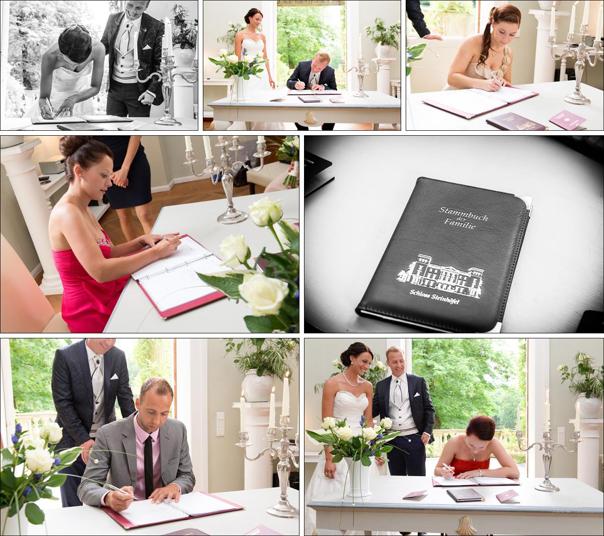 Hochzeitsfotograf Berlin Trauung Hochzeitsreportage auf Schloss Steinhoefel