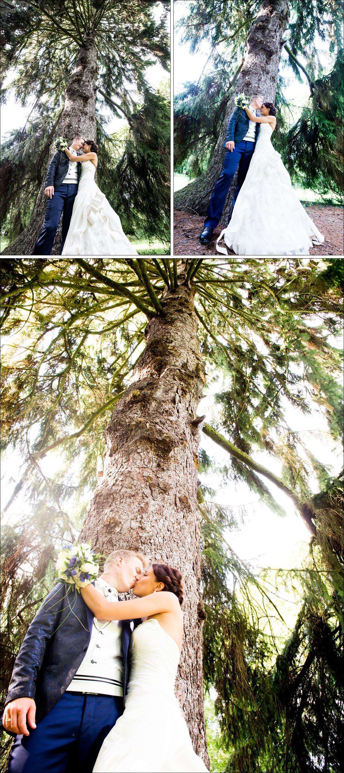 Hochzeitsportraits Wald Hochzeitsfotograf Berlin