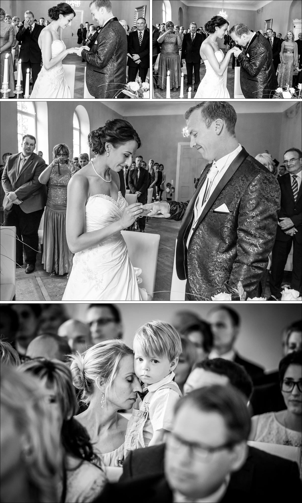 Standesamtliche Trauung Schloss Steinhoefel Hochzeitsreportage