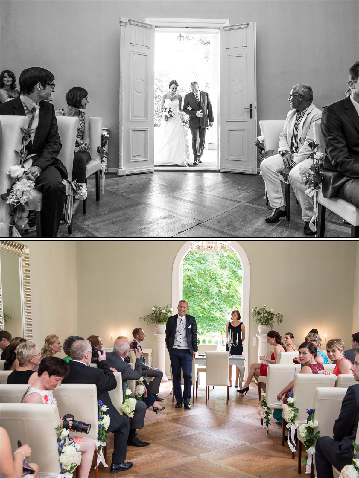 Trauung Steinhoefel Schlosshotel Hochzeitsfotograf Berlin